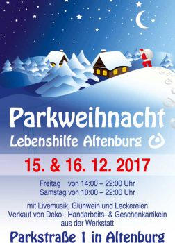 Parkweihnacht in Altenburg
